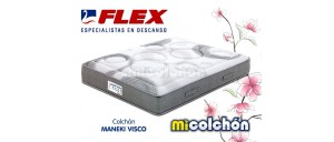 Colchón Flex MANEKI VISCO