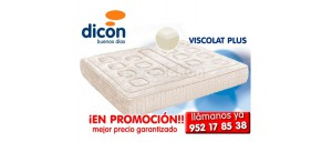 Colchón Dicon VISCOLAT PLUS