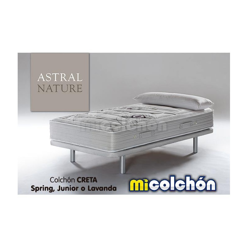 Colchón Astral Nature CRETA SPRING JUNIOR