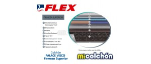 08 Colchón Flex PALACE VISCO (Firmeza Superior)