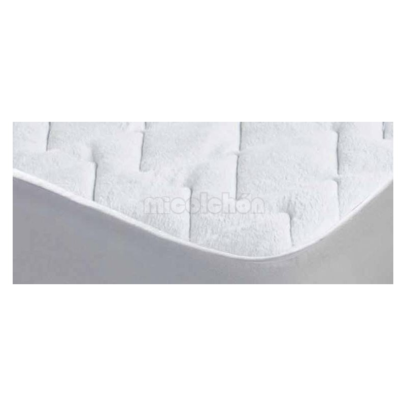 Quilted Enzo Italy 100% COTTON Mattress Protector
