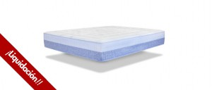 CLEARANCE Bed Nord Swiss MEMORY QUEEN 90x190