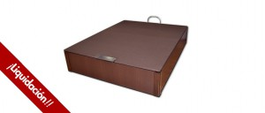 CLEARANCE Nessen TITÁN Wooden Box Spring 150x190