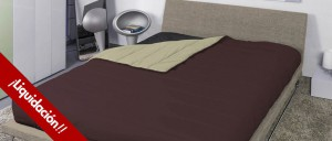 Icelands BALTIC chocolate-almond duvet