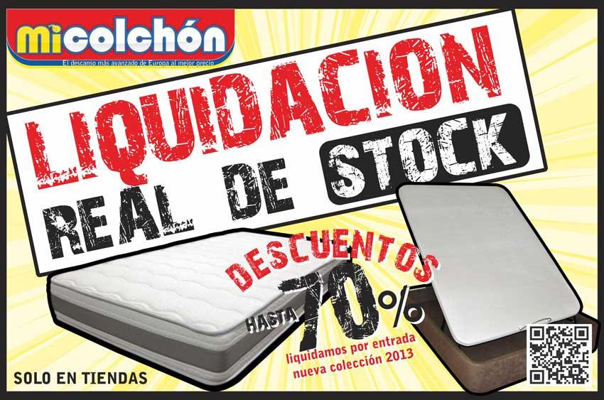 Liquidación real de STOCK