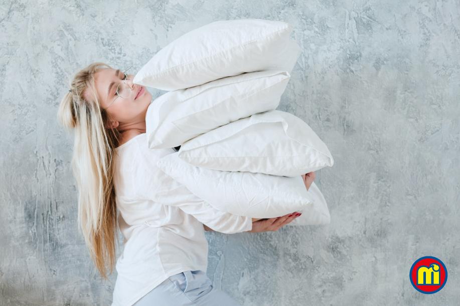 Cuida tu almohada para un descanso higiénico.